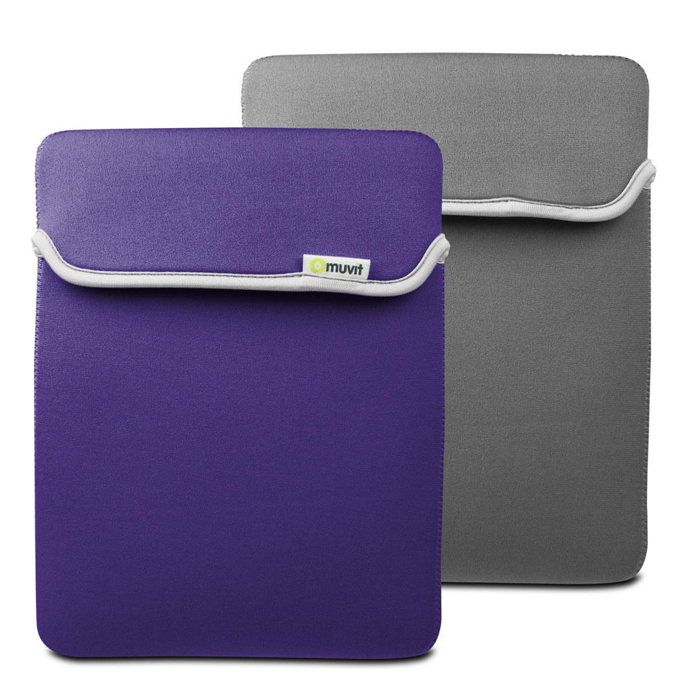 Muvit housse n opr ne r versible pour nouvel ipad ipad for Housse neoprene ipad