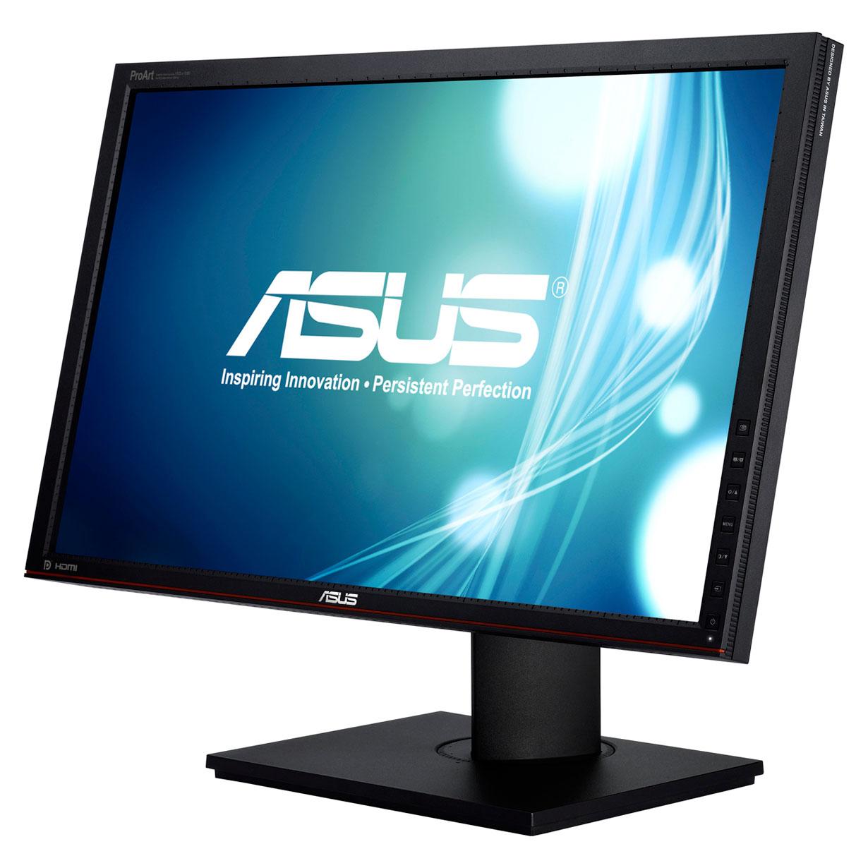 """Ecran PC ASUS 23"""" LED - PA238Q 1920 x 1080 pixels - 6 ms (gris à gris) - Format large 16/9 - Dalle IPS - Pivot - Hub USB - HDMI v1.3 (garantie constructeur 3 ans)"""