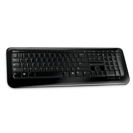 Clavier PC Microsoft Wireless Keyboard 800 Noir (AZERTY Français)