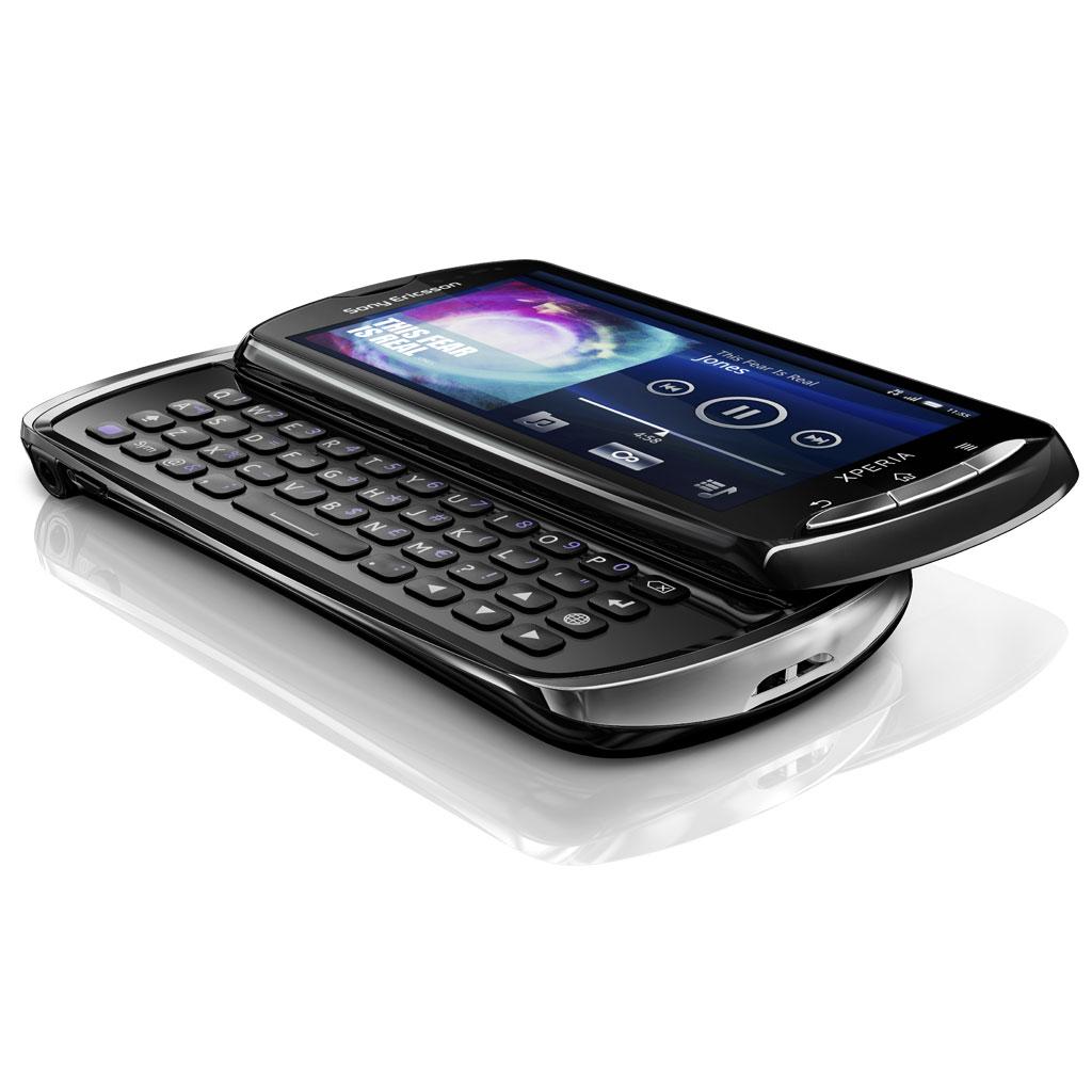 Sony ericsson xperia pro noir mobile smartphone sony ericsson sur ldlc - Support clavier coulissant ...