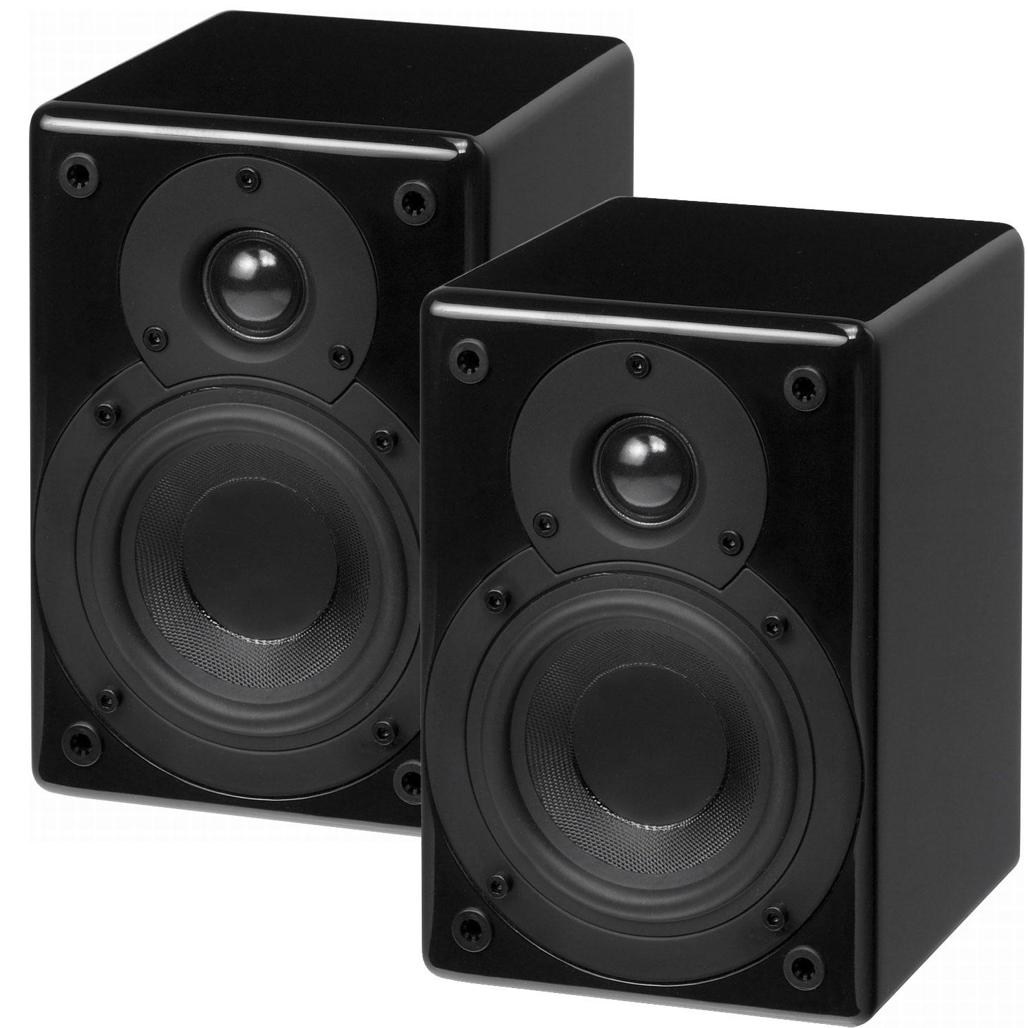 scansonic s4 noir par paire sc s4b achat vente. Black Bedroom Furniture Sets. Home Design Ideas