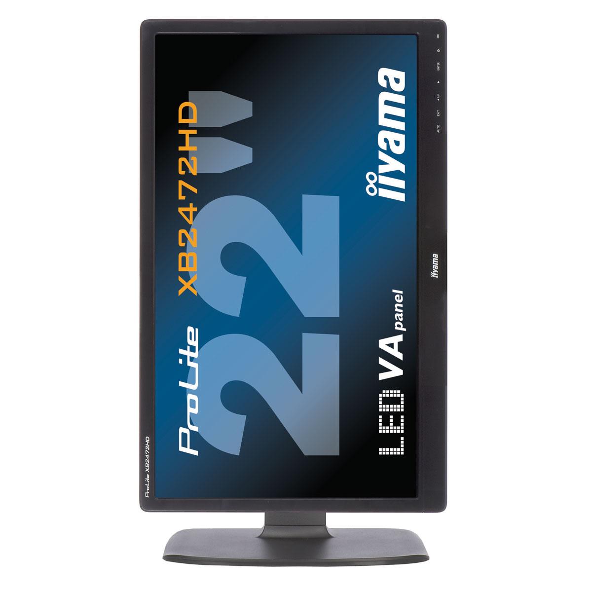 Iiyama 24 led prolite xb2472hd plxb2472hd b1 achat for Vente ecran pc