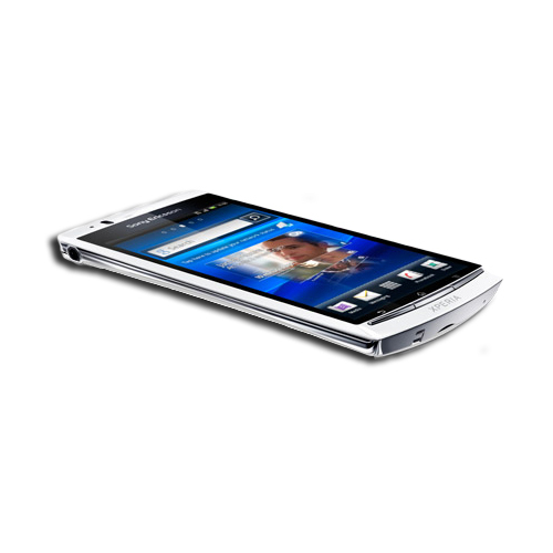 "Mobile & smartphone Sony Xperia Arc S Blanc Smartphone 3G+ avec écran tactile 4.2"" sous Android 2.3.4"