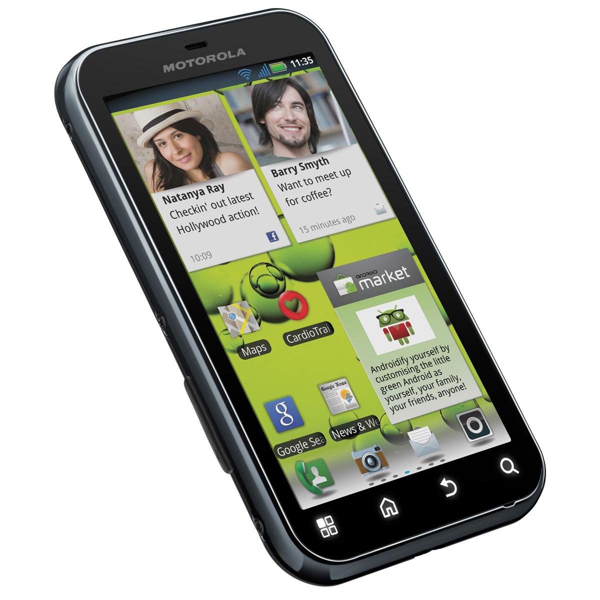 Motorola defy mobile smartphone motorola sur ldlc for Photo ecran motorola