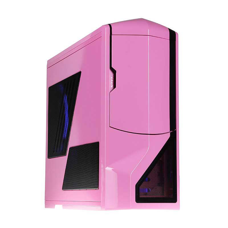Boîtier PC NZXT Phantom (rose) - Edition USB 3.0 Boîtier Grand Tour pour gamer