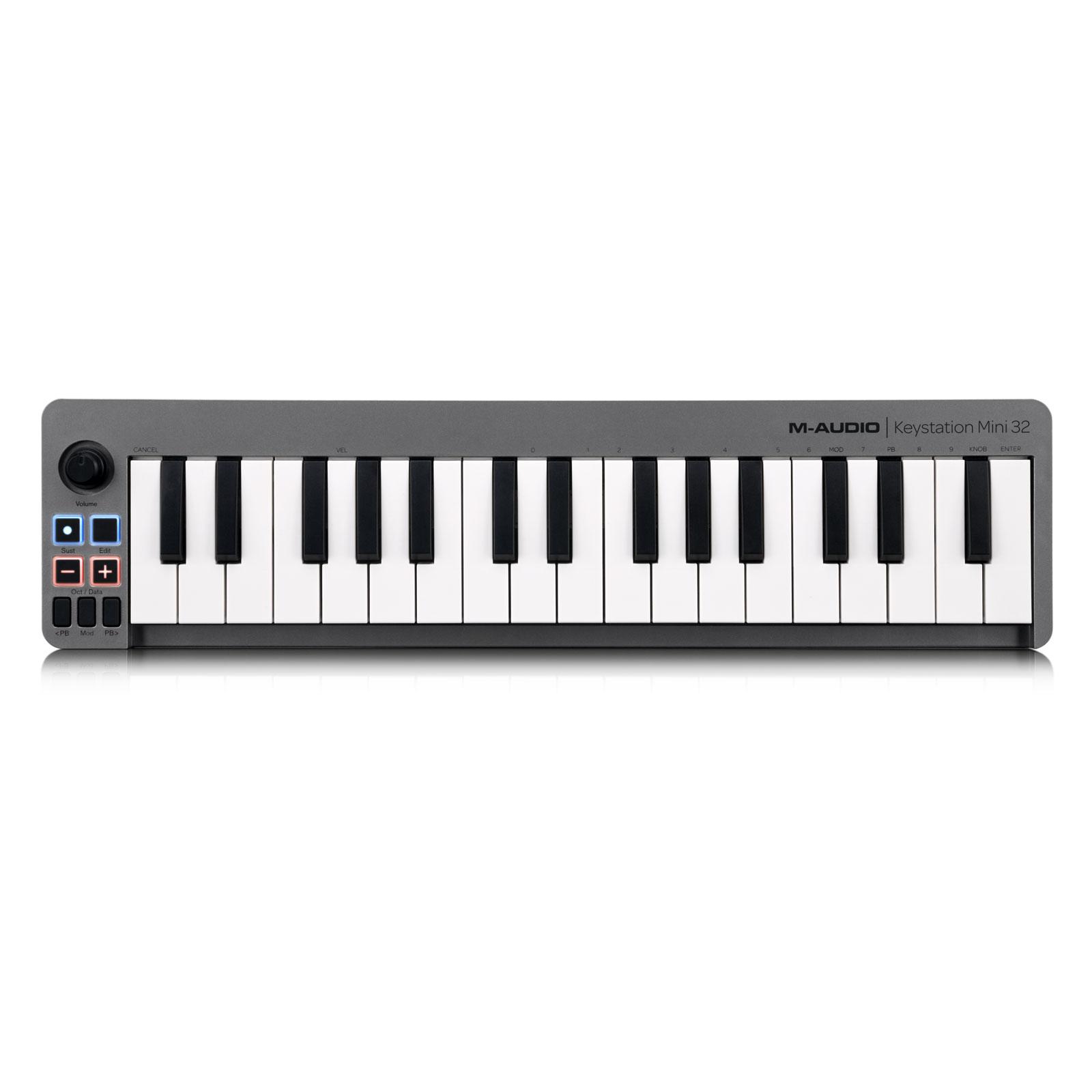 m audio keystation mini 32 clavier home studio m audio. Black Bedroom Furniture Sets. Home Design Ideas