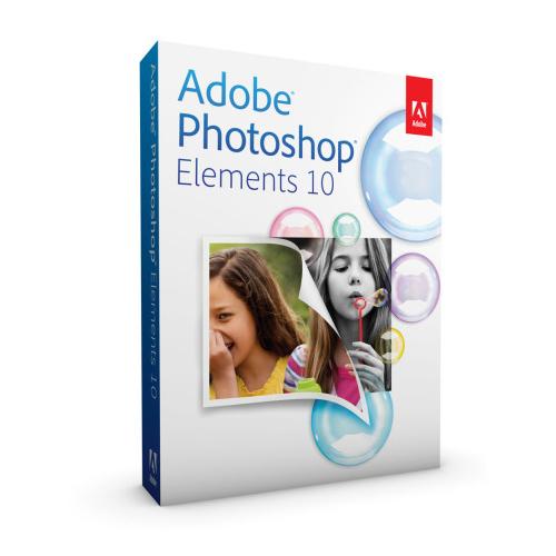 Logiciel graphisme & Photo Adobe Photoshop Elements 10 Mise à jour Logiciel de retouche graphique, mise à jour (Français, Windows / Mac OsX)