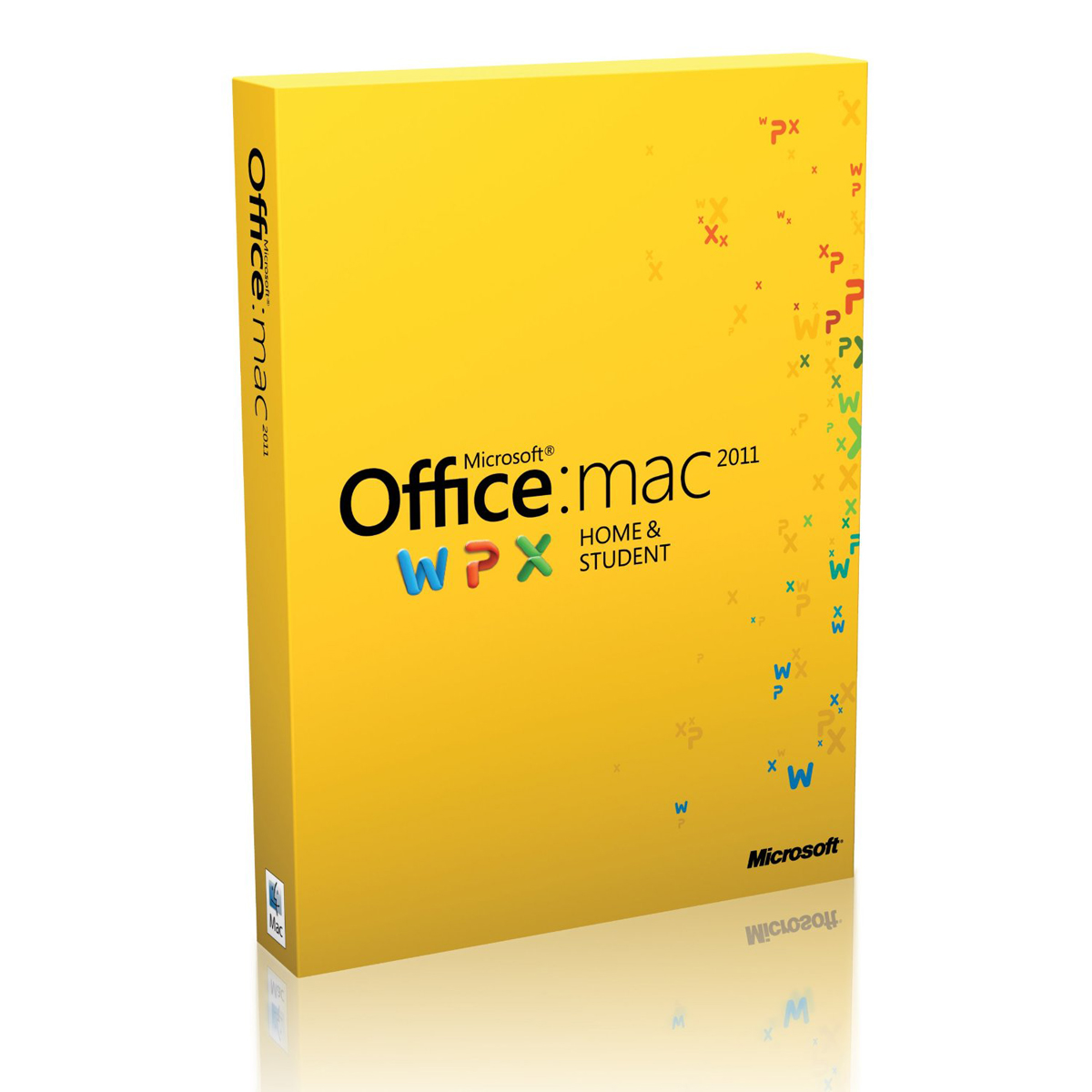 Microsoft Office pour Mac Famille et Étudiant 2011 - 3 postes