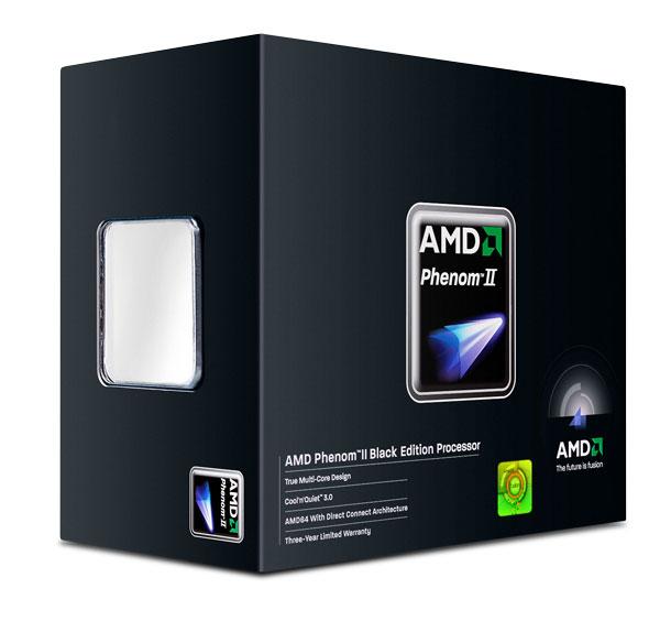 Processeur AMD Phenom II X4 980 Black Edition (3.7 GHz) Processeur Quad Core Socket AM3 0.045 micron Cache L2 2 Mo Cache L3 6 Mo - Stepping C3 (version boîte - garantie constructeur 3 ans)