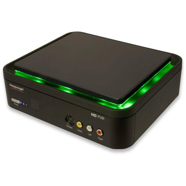 Carte d'acquisition Hauppauge HD PVR Gaming Edition Boîtier d'acquisition vidéo matérielle Haute Définition pour console de jeux (Xbox 360 / PS3)