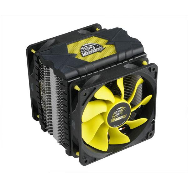 Ventilateur processeur Akasa VENOM Voodoo AK-CC-4008-HP01 Ventilateur de processeur (pour Socket 775/1150/1151/1155/1156/1366/2011/939/AM2/AM2+/AM3)