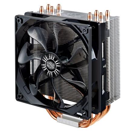 Ventilateur processeur Cooler Master Hyper 212 Evo Ventilateur pour processeur (pour socket Intel 775 / 1150/1151/1155 / 1156 / 1366 et AMD FM1 / FM2 / FM2+ / AM3+ / AM3 / AM2+ / AM2)