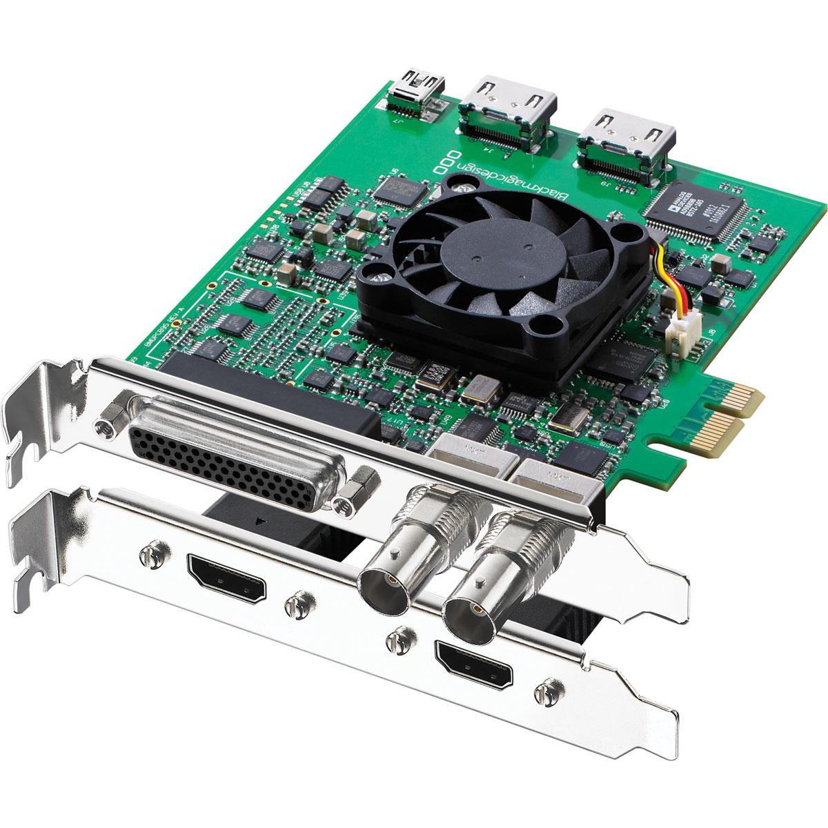 Carte d'acquisition Blackmagic Design DeckLink Studio 2 Carte d'acquisition Haute Définition PCI Express