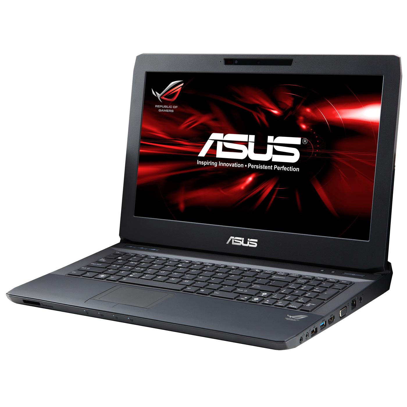 """PC portable ASUS G53SX-SX116V Intel Core i5-2430M 6 Go 750 Go 15.6"""" LED NVIDIA GeForce GTX 560M Graveur DVD Wi-Fi N/BT Webcam Windows 7 Premium 64 bits (garantie constructeur 2 ans)"""