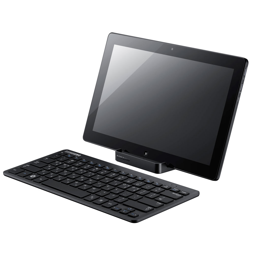 "PC portable Samsung Slate PC XE700T1A-A02FR Intel Core i5-2467M 4 Go SSD 64 Go 11.6"" LED Tactile Intel HD Graphics Wi-Fi N/Bluetooth Webcam Windows 7 Premium 64 bits"