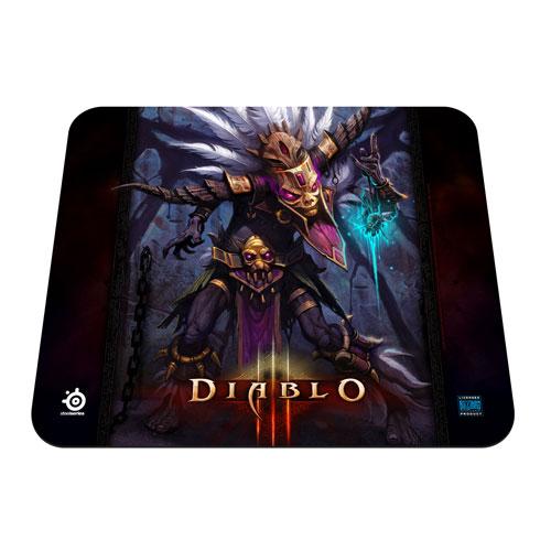 """Tapis de souris SteelSeries QcK Edition Limitée (Diablo III """"Witch Doctor"""") Tapis de souris pour gamer"""