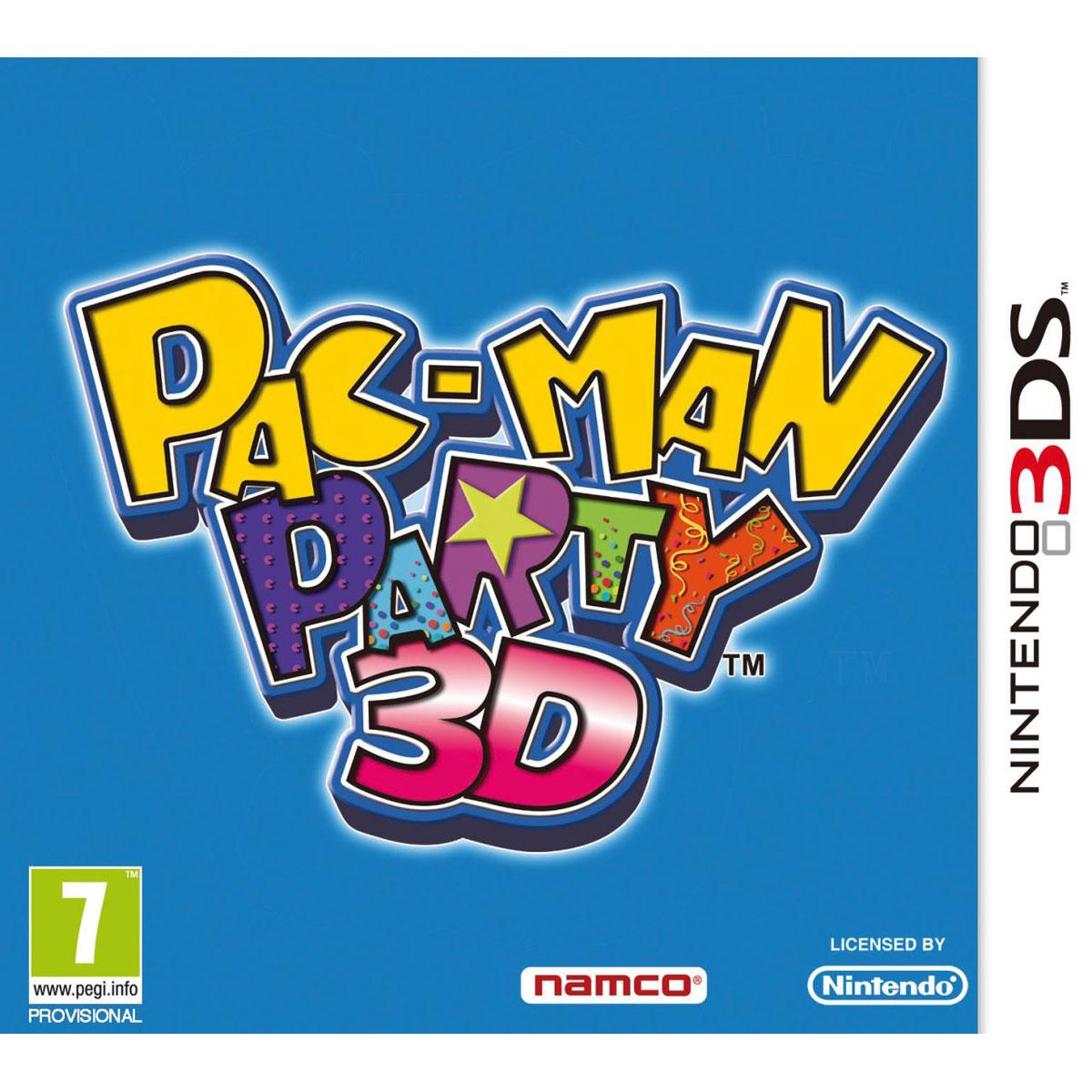 pac man party 3d 3ds 45460057409 achat vente jeux nintendo 3ds sur. Black Bedroom Furniture Sets. Home Design Ideas