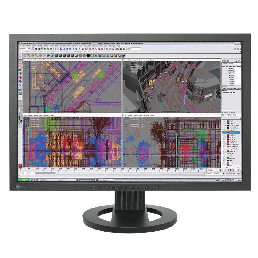 "Ecran PC EIZO 22"" LCD - FlexScan SX2262W 1920 x 1200 pixels - 6 ms - Format large 16/10 - Dalle S-PVA - Hub USB - Noir"