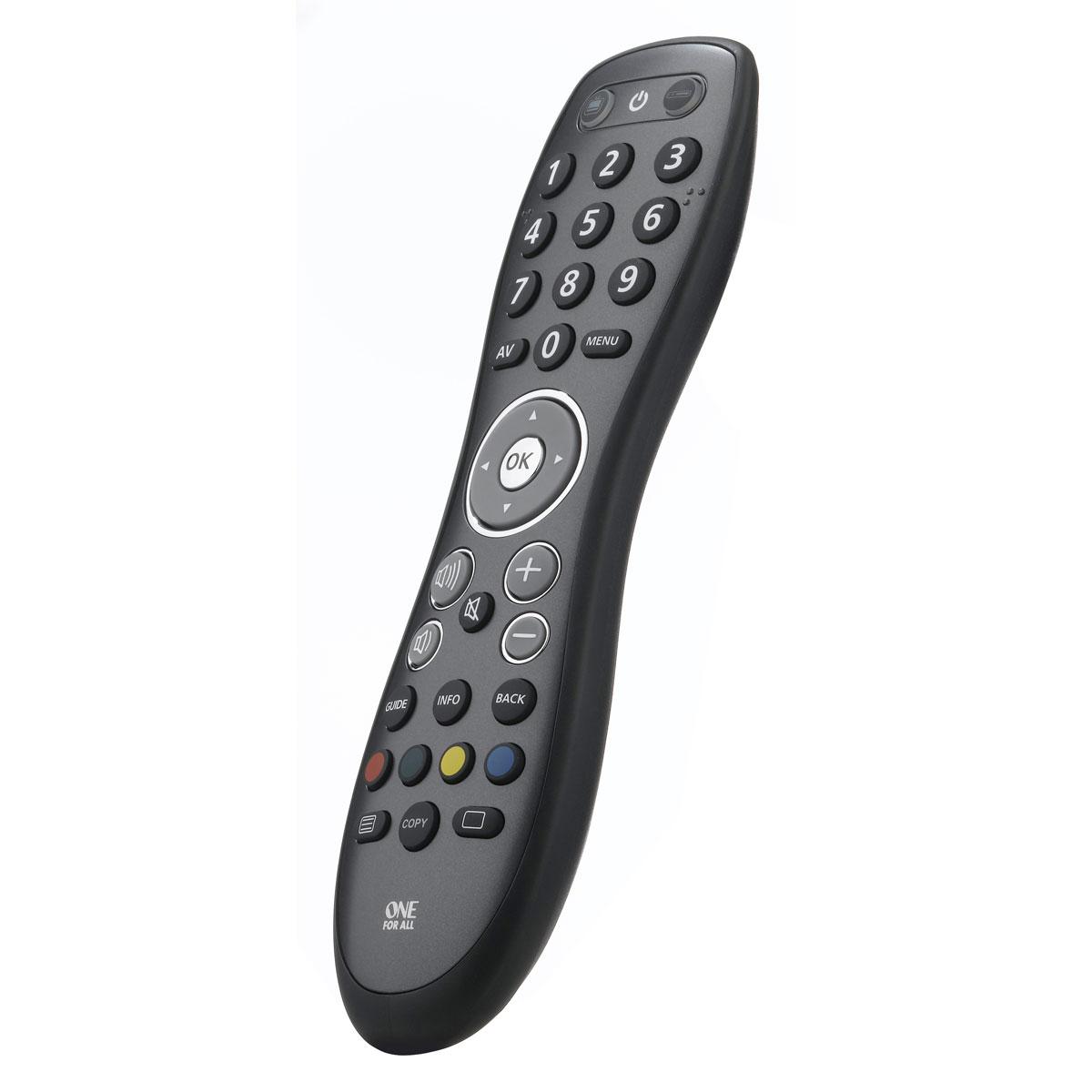 Télécommande One For All Easy & Robust 2-in-1 Télécommande universelle 2 en 1