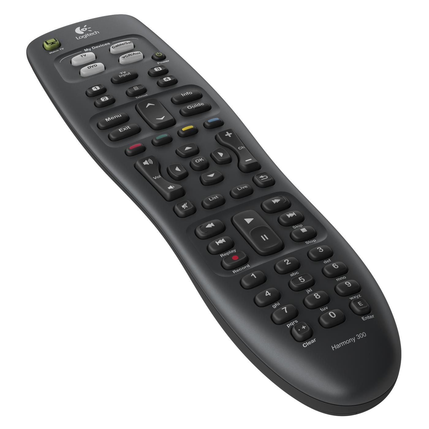 Télécommande Logitech Harmony 300 Télécommande universelle - 4 appareils supportés