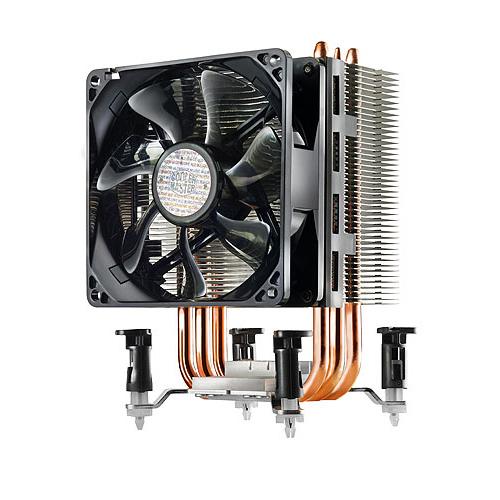 Ventilateur processeur Cooler Master Hyper TX3 Evo Ventilateur pour processeur (pour Socket AMD AM2 / AM2+/ AM3 / AM3+ / AM4 / FM1 / FM2 et Intel 775 / 1366 / 1150/1151/1155 / 1156)