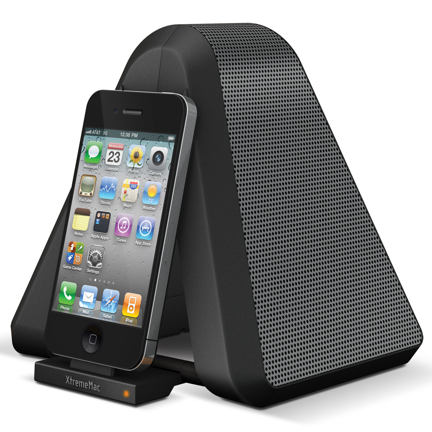 Xtrememac soma stand dock enceinte bluetooth xtrememac sur ldlc - Enceinte iphone ipad ...