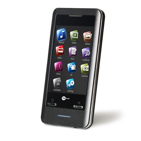 """Lecteur MP3 & iPod MPMAN TS302 - 4 Go Lecteur MP3 4 Go Ecran 2.8"""" FM"""