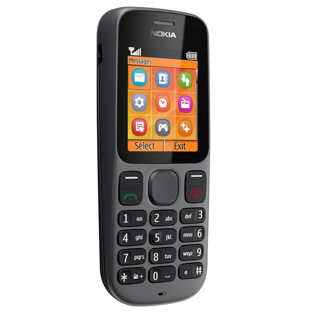 Mobile & smartphone Nokia 100 Phantom Black Téléphone 2G