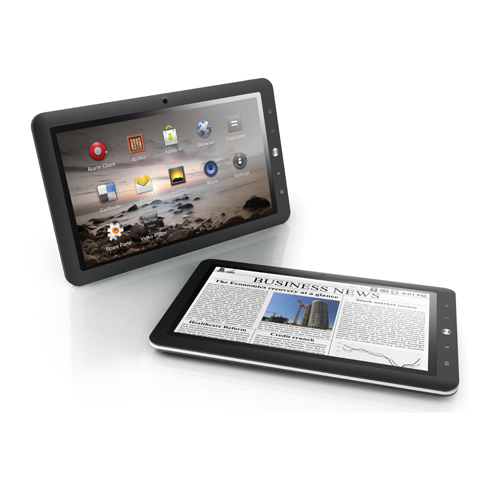 "Tablette tactile MPMAN MP1027 Tablette Internet - ARM Cortex-A8 1 GHz 512 Mo 8 Go 10.1"" LCD tactile Wi-Fi G Androïd 2.2"