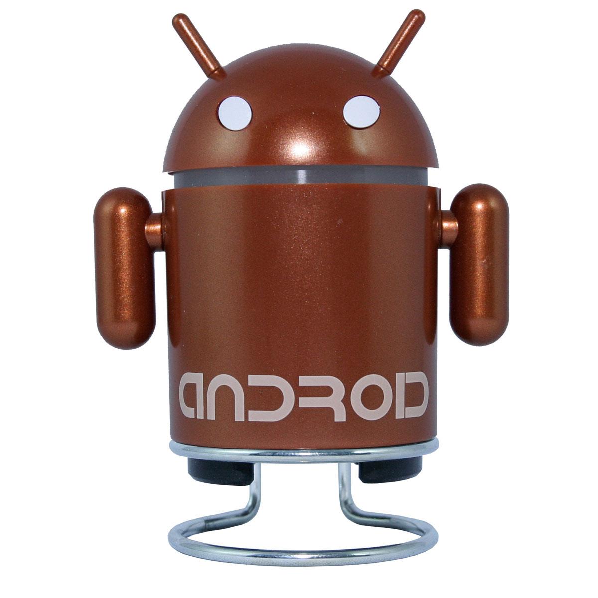 Radio & radio réveil Muvit Figurine Android enceinte et radio Marron Muvit Figurine Android enceinte et radio Marron