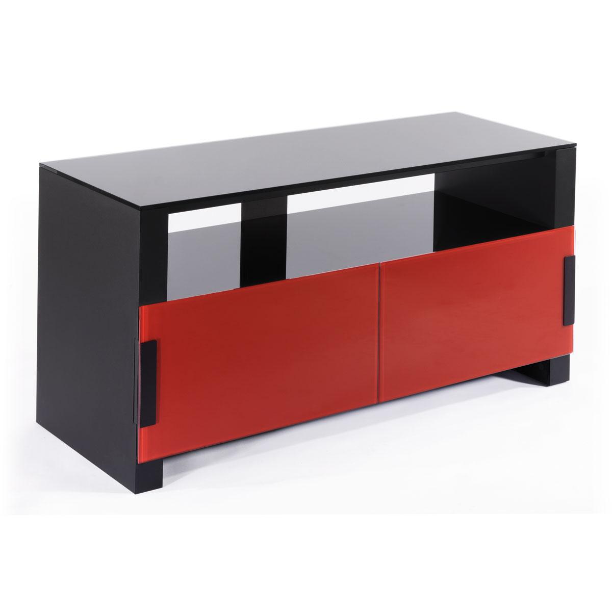 Erard bilt1100 rouge meuble tv erard group sur ldlc - Meuble tv noir et rouge ...