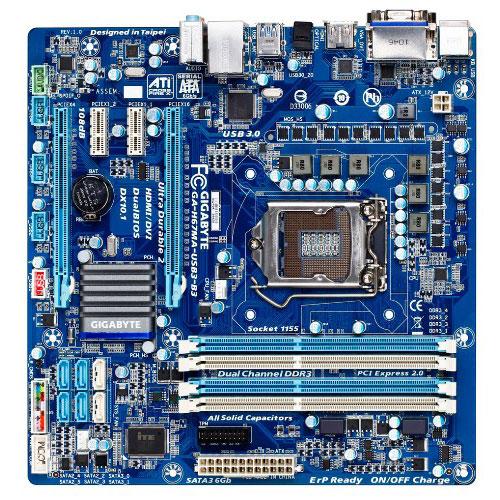 Carte mère Gigabyte GA-H67MA-USB3-B3 (Rev. B3) Carte mère Micro ATX Socket 1155 Intel H67 Express Revision B3