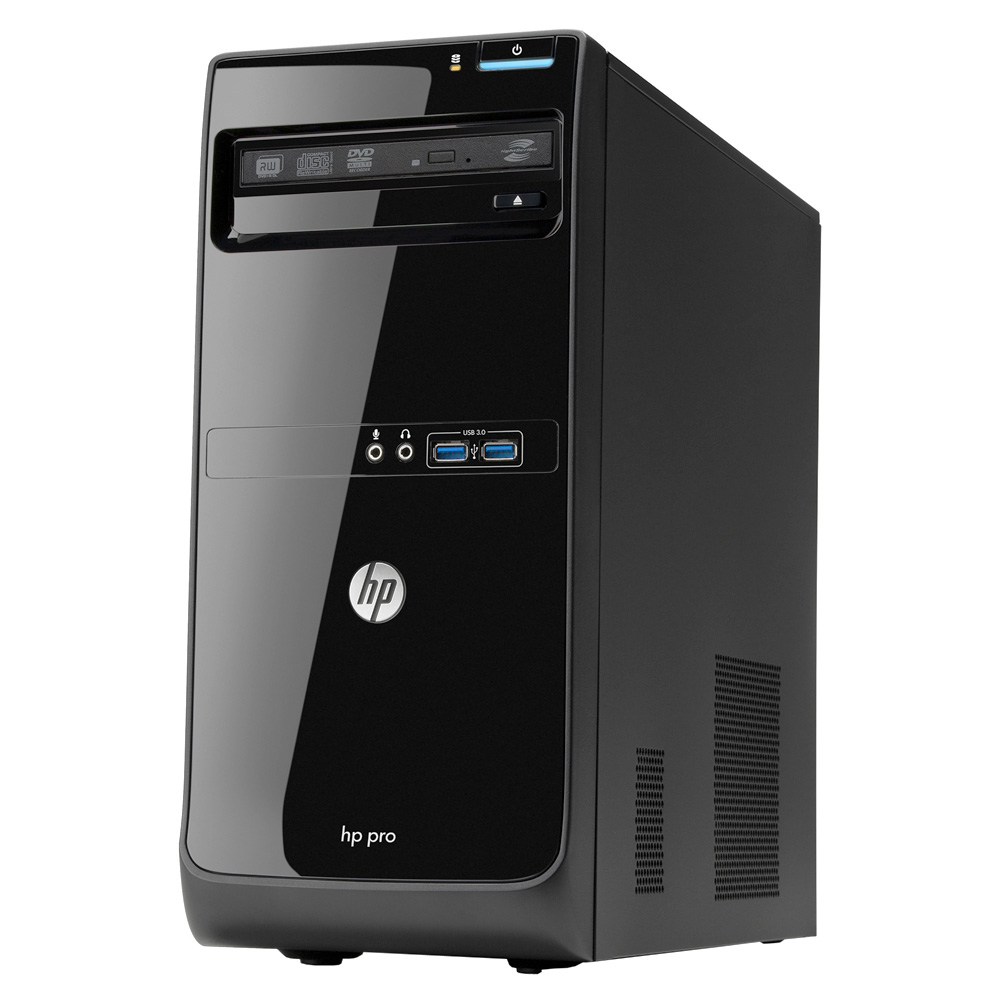PC de bureau HP Pro 3500 (B5H53EA) Intel Core i5-3470 4 Go 500 Go Graveur DVD Windows 8 Pro 64 bits