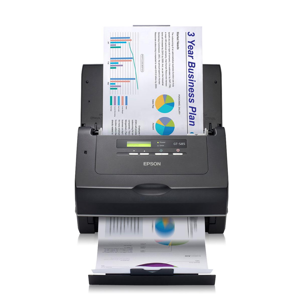 Scanner Epson GT-S85N Scanner réseau professionnel haute vitesse A4