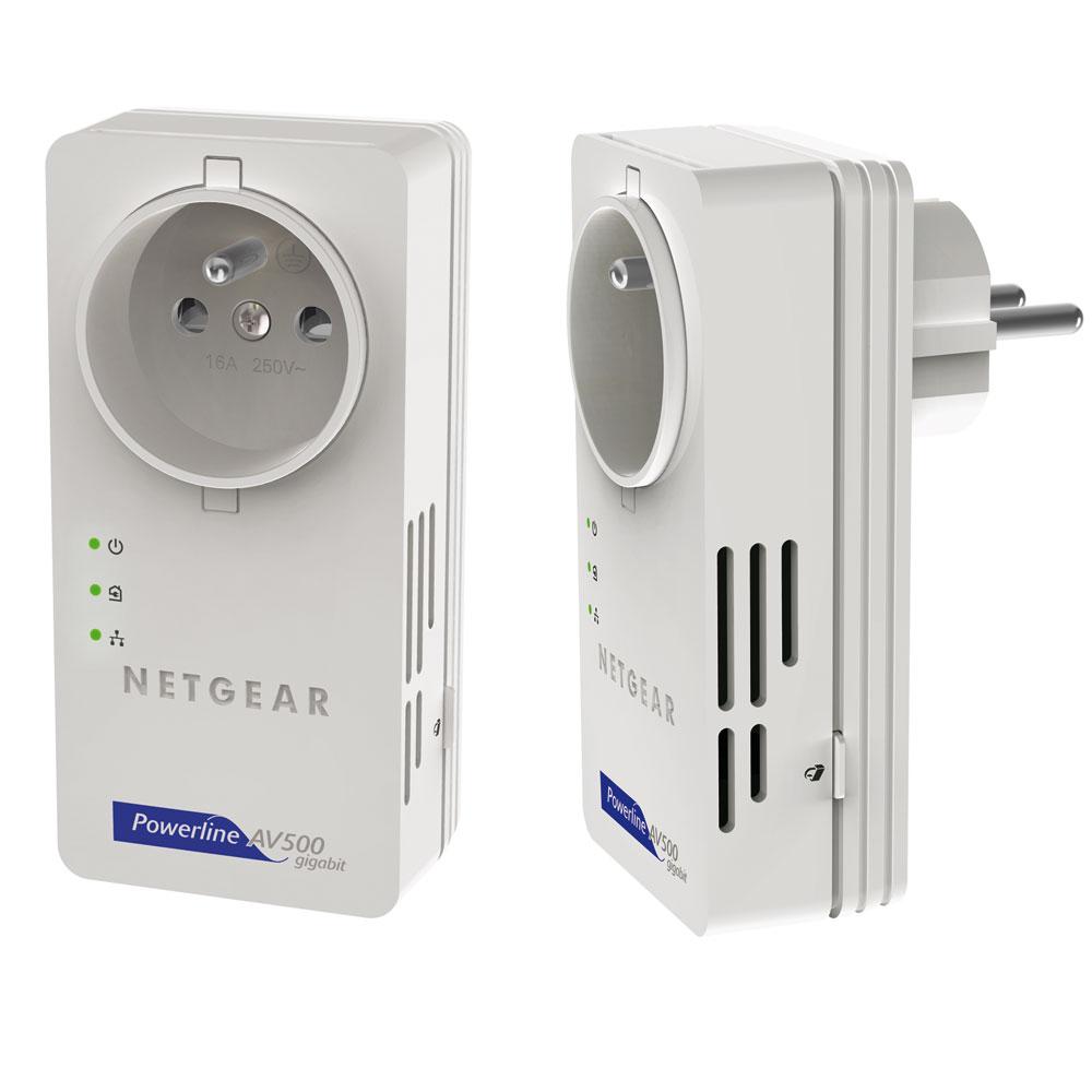 Netgear xavb5601 cpl netgear sur ldlc - Prise electrique wifi ...