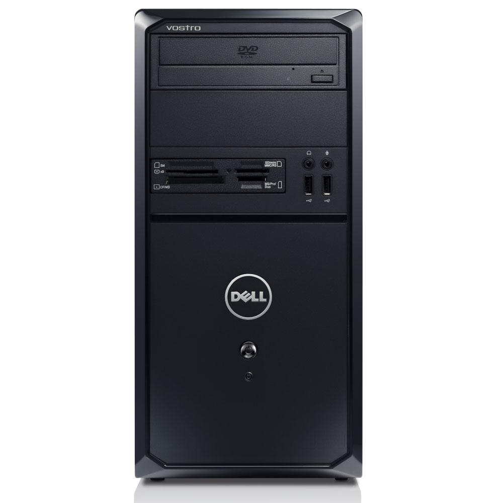 PC de bureau Dell Vostro 260 MT (i5-6G-1T) Mini Tour - Intel Core i5-2400 6 Go 1 To AMD Radeon HD 6450 1GB Graveur DVD Windows 7 Premium 64 bits (Garantie Dell 1 an)