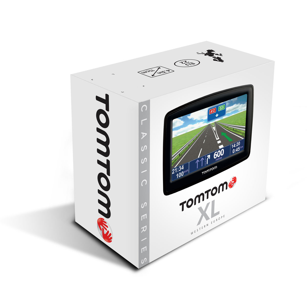 tomtom xl europe classic series 23 pays gps tomtom sur ldlc. Black Bedroom Furniture Sets. Home Design Ideas