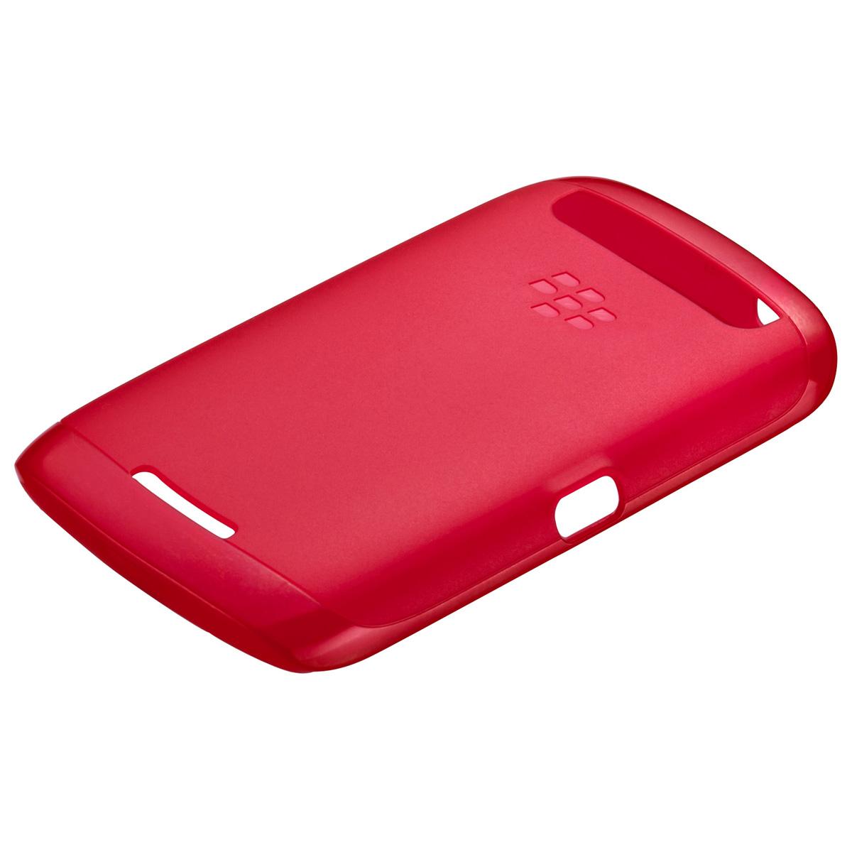 Etui téléphone  BlackBerry Soft Shell Rouge Coque pour BlackBerry Curve 9380