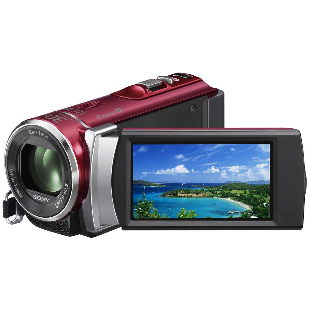 Caméscope numérique Sony HDR-CX200 Rouge Caméscope Full HD carte mémoire