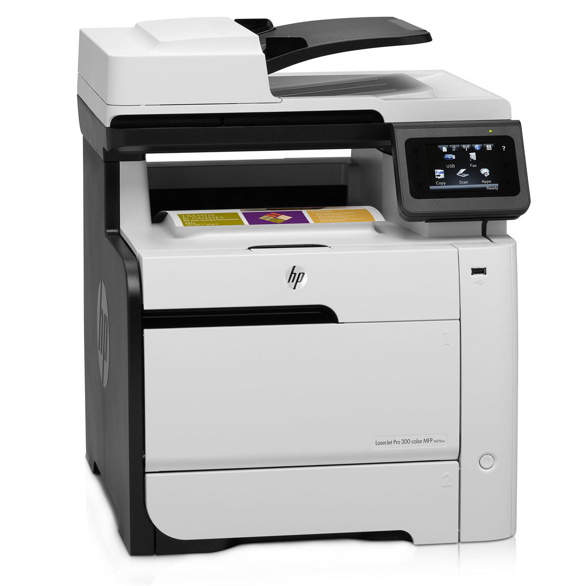 hp laserjet pro 300 color mfp m375nw ce903a imprimante. Black Bedroom Furniture Sets. Home Design Ideas