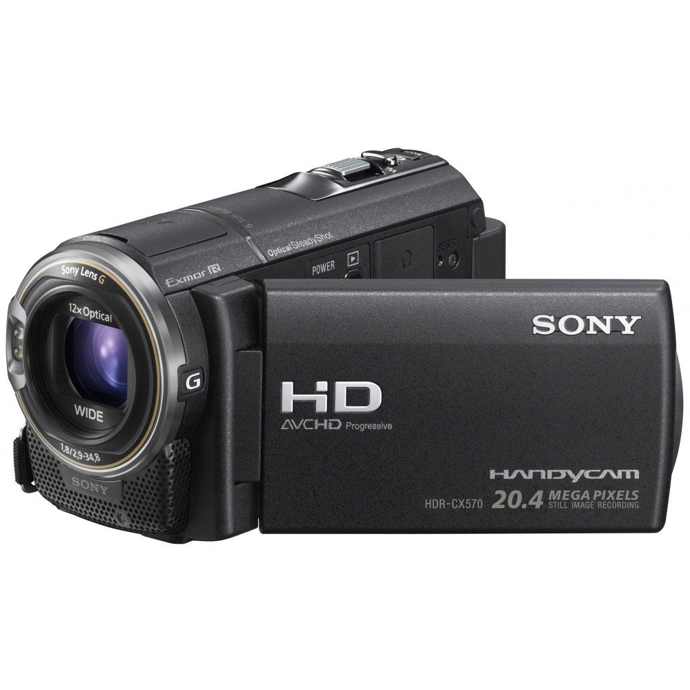 Caméscope numérique Sony HDR-CX570 Noir Caméscope Full HD Mémoire flash