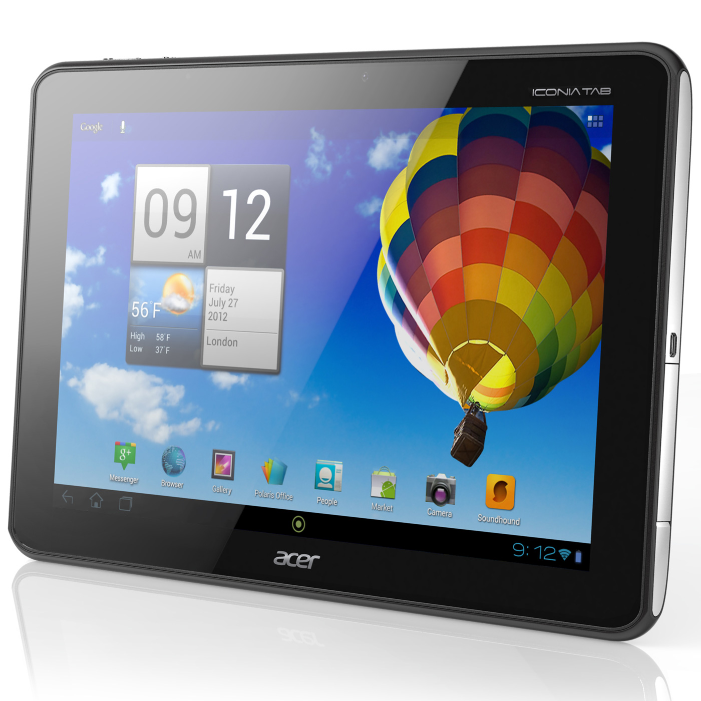 acer iconia tab a510 noire tablette tactile acer sur ldlc. Black Bedroom Furniture Sets. Home Design Ideas