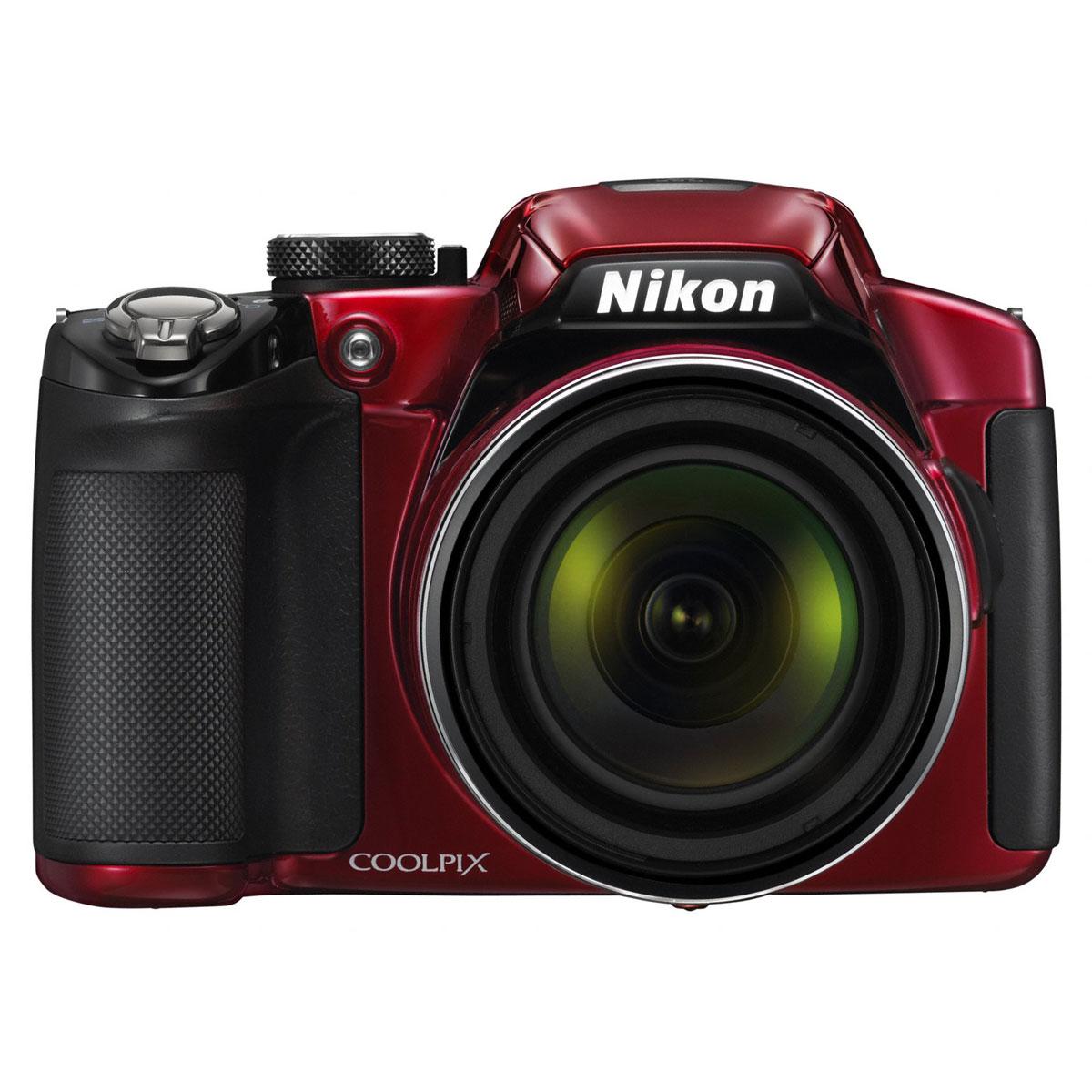 nikon coolpix p510 rouge appareil photo num rique nikon sur ldlc. Black Bedroom Furniture Sets. Home Design Ideas