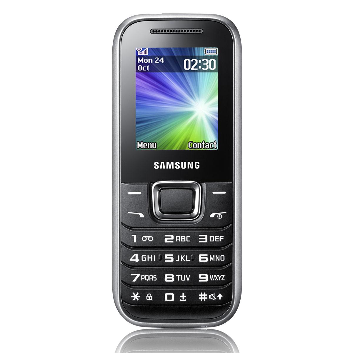 Mobile & smartphone Samsung E1230 Noir Téléphone 2G