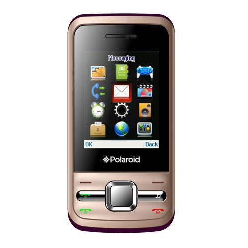 """Mobile & smartphone Polaroid PRO M200 Champagne Smartphone 2G avec écran 2"""" et 2 ports pour cartes SIM"""