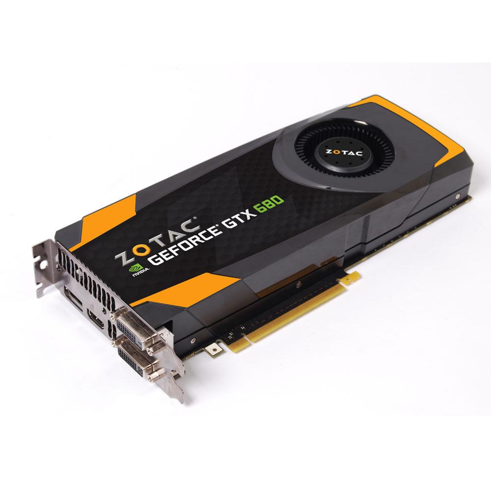 Carte graphique Zotac GeForce GTX 680 2GB 2048 Mo Dual DVI/HDMI/DisplayPort - PCI Express (NVIDIA GeForce avec CUDA GTX 680) + Compilation 3 jeux Assassin's Creed