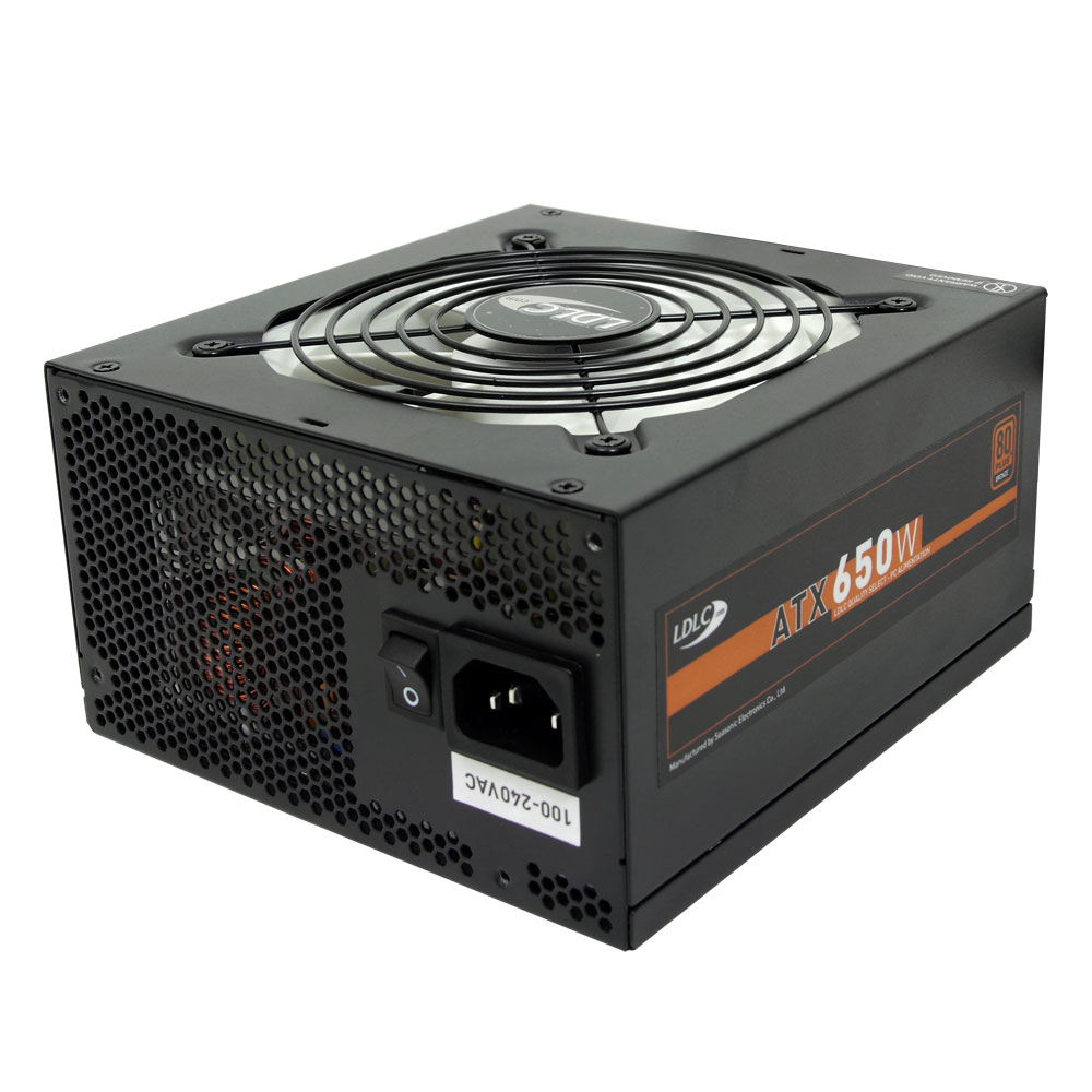 Alimentation PC LDLC TA-650 Quality Select 80PLUS Bronze Alimentation 650W ATX 12V Ventilateur 120 mm - 80PLUS Bronze