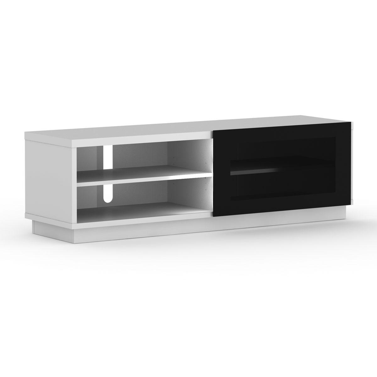 Elmob harmony ha 160 04 blanc ha 160 04 white achat vente meuble tv sur - Meuble pour ecran plat ...