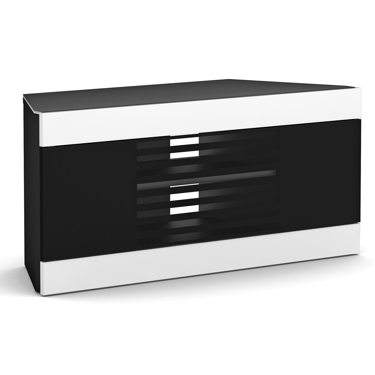 Elmob linos li 110 06 noir meuble tv elmob sur ldlc - Meuble pour ecran plat ...