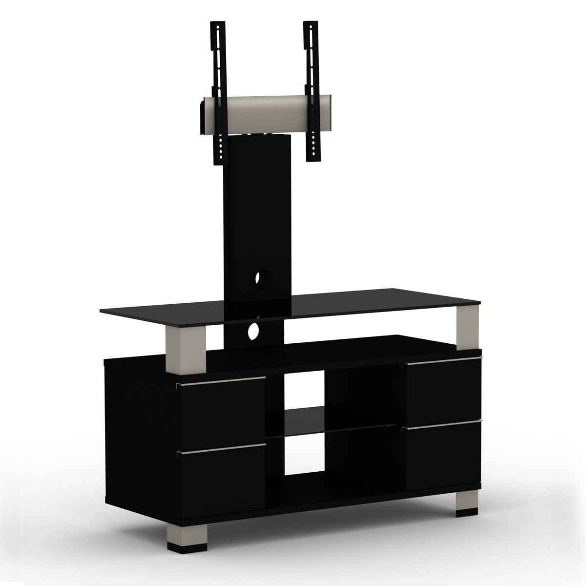 elmob pone pn 095 01f noir meuble tv elmob sur ldlc. Black Bedroom Furniture Sets. Home Design Ideas